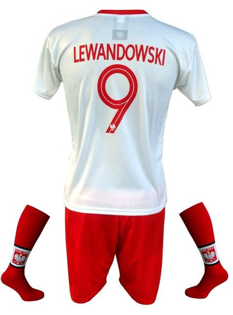 Komplet piłkarski Reprezentacji Polski Lewandowski